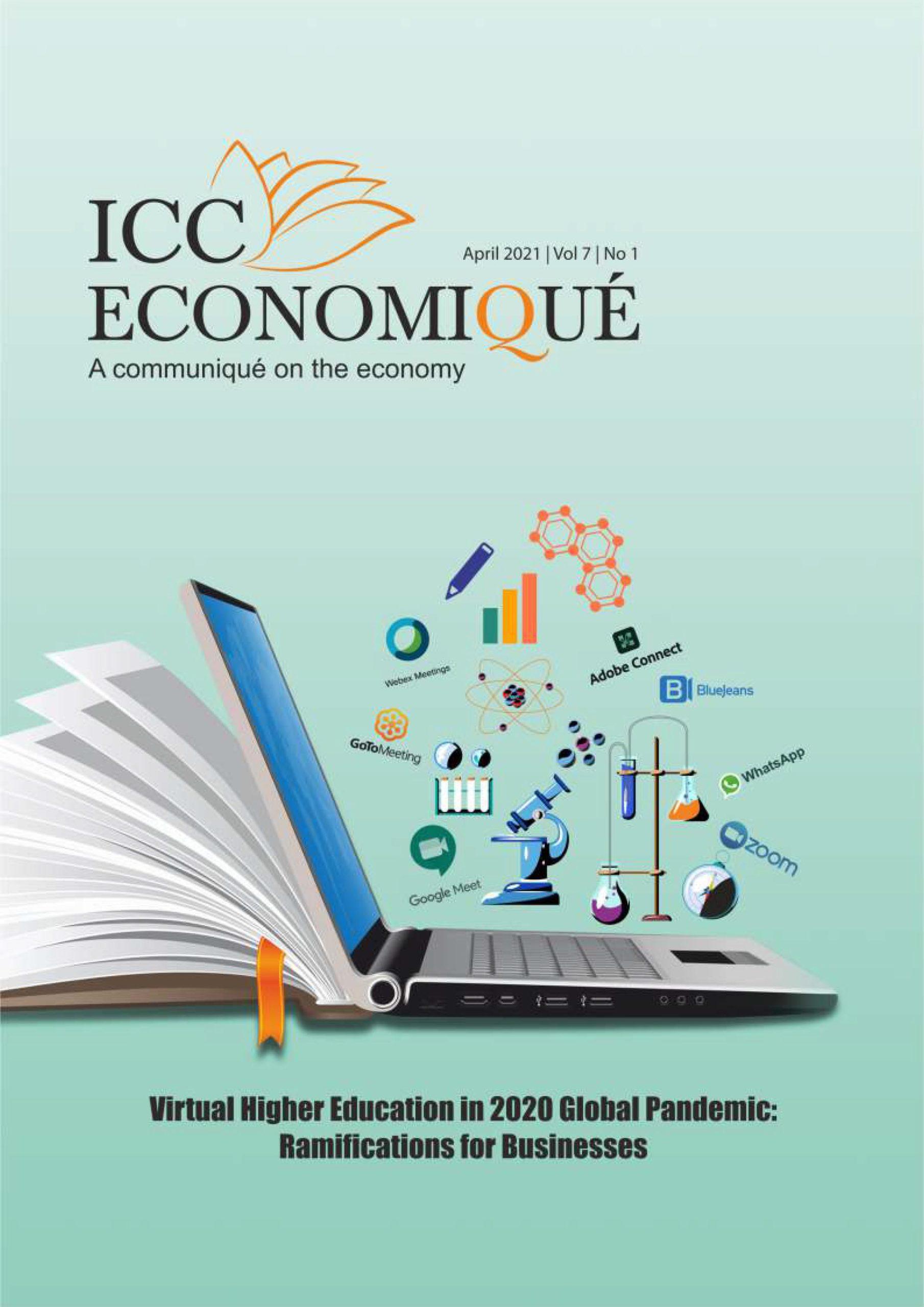 ICC Economique April 2021 | Vol 7 | No 1